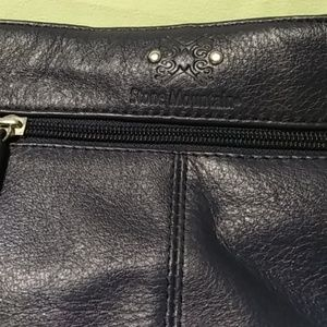 Bags - Stone Mountain Leather Bag Navy